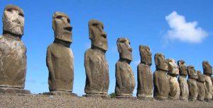 """""""Isola di Pasqua"""": perché è chiamata così e cosa rappresentano quelle enormi teste in pietra."""